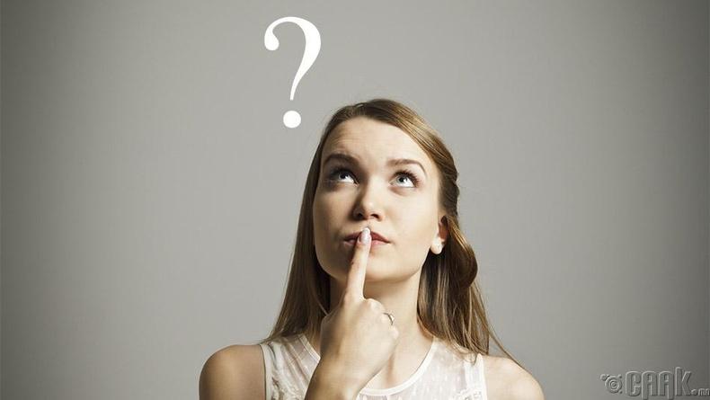 Уншсан зүйлийнхээ талаар өөрөөсөө асуух