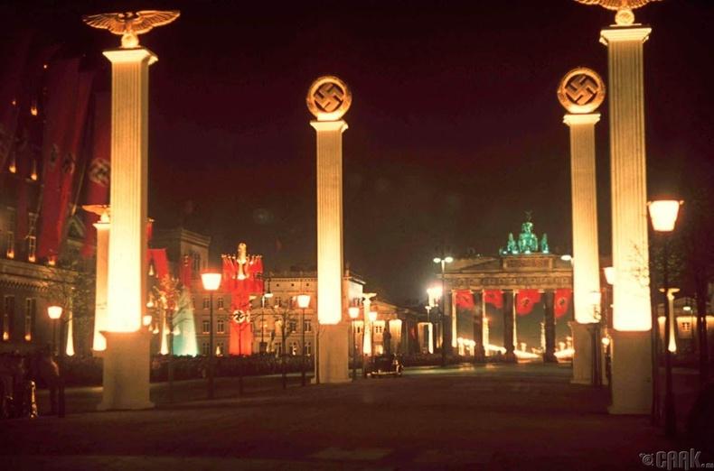 Берлин хот Адольф Гитлерийн 50 насны ойн үеэр - 1939 он