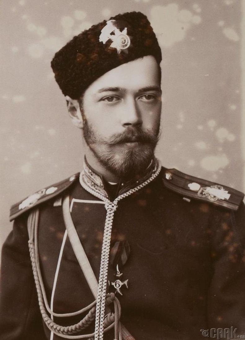 Оросын сүүлчийн эзэн хаан Николай II