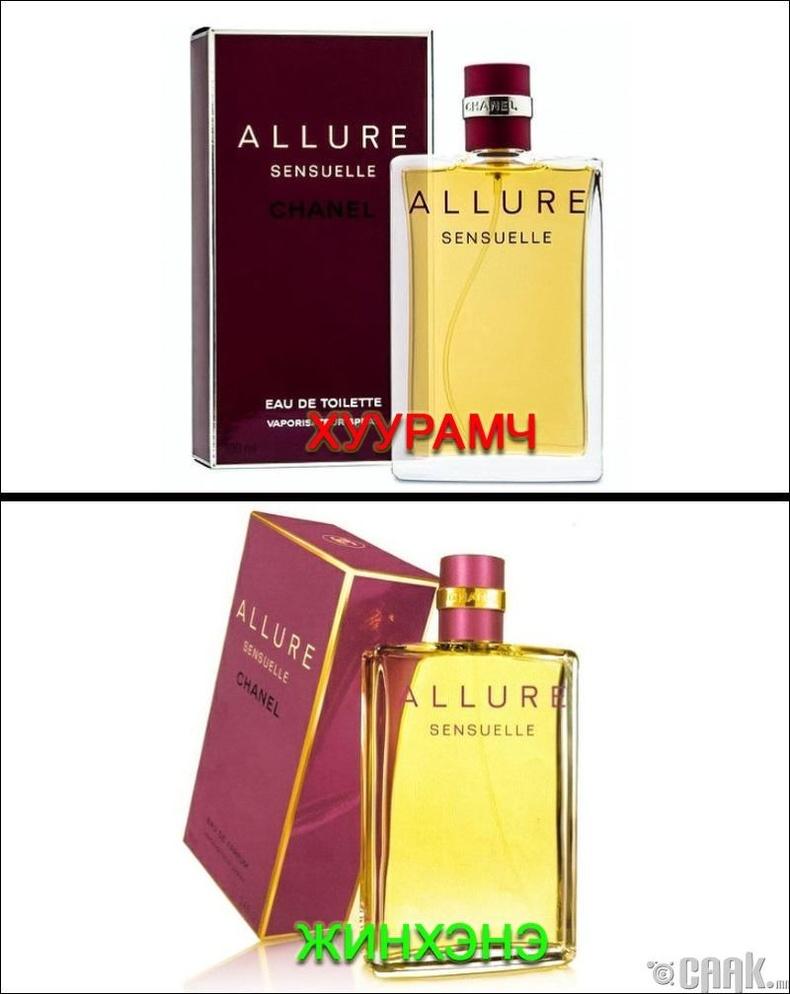 """""""Chanel""""-ын """"Allure Sensuelle"""" үнэртэй ус"""