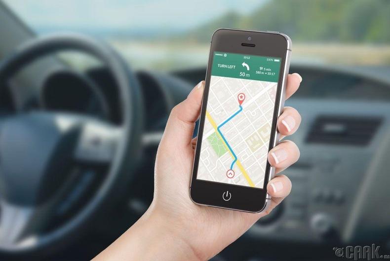 GPS хэрэглэх