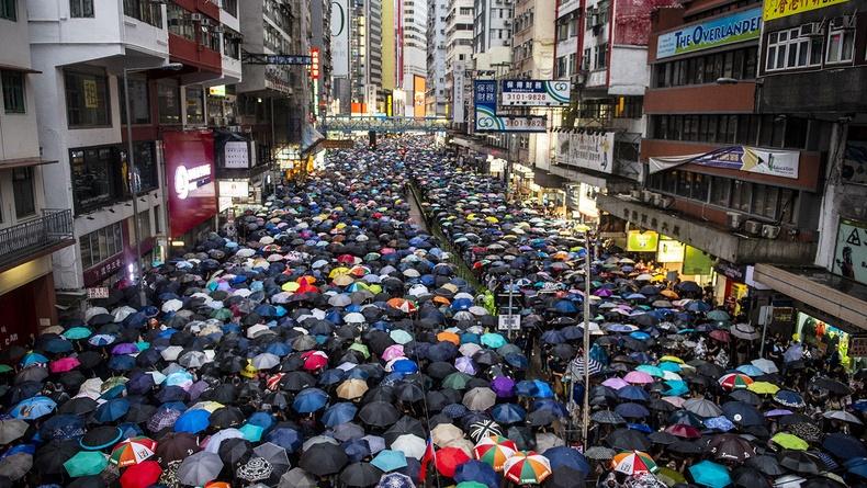 Хонконгийн хүн амын нягтшил