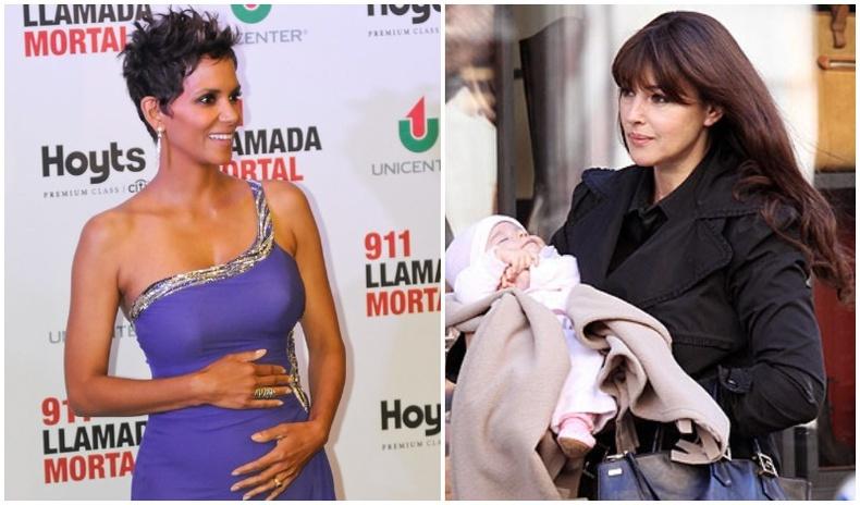45-аас дээш насандаа хүүхэдтэй болсон алдартан бүсгүйчүүд
