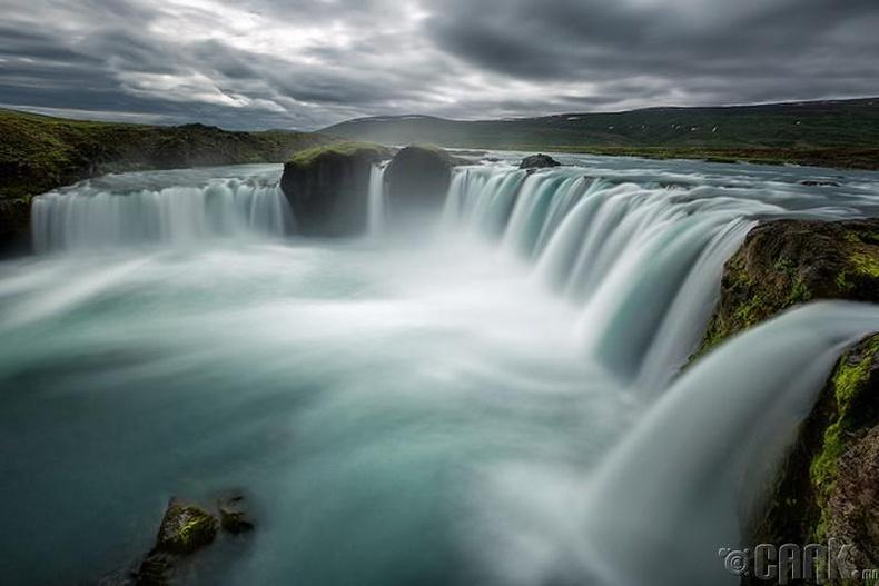 """Исландын алдарт """"Годафос"""" хүрхрээ"""