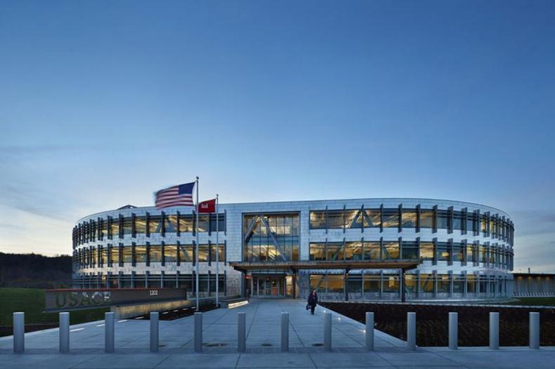 АНУ-ын Засгийн газрын шинэ байр