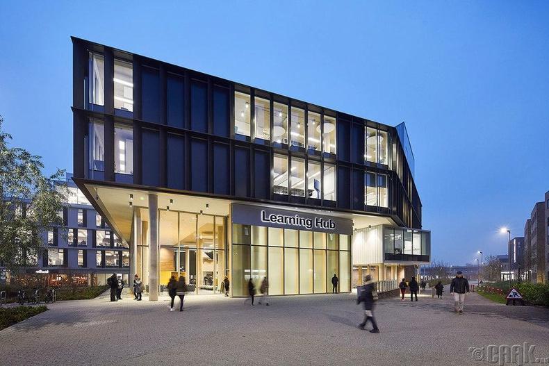 """Learning Hub"" барилга.  Нордхамьптон Их сургууль (University of Northampton)"