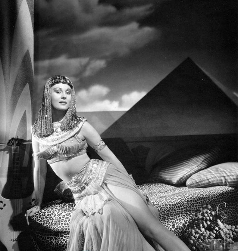 Виржиниа Майо (Virginia Mayo) - The Story of Mankind (1957)
