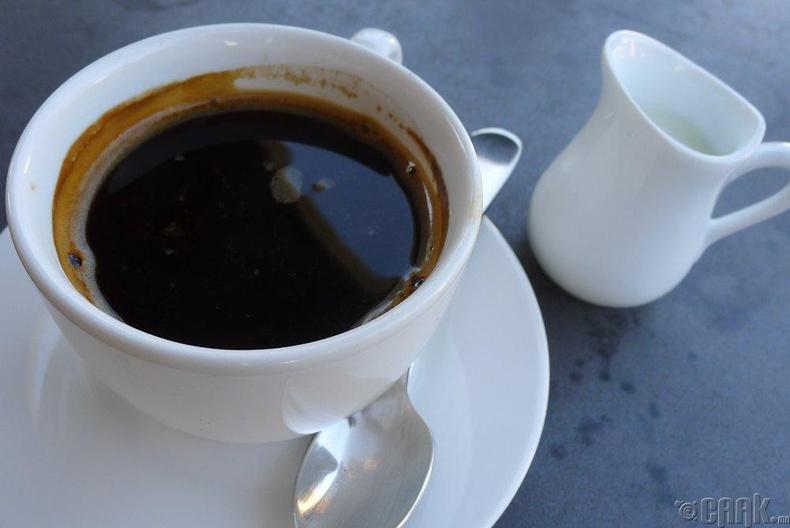 Хар кофе (Long Black)