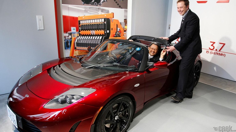 """Tesla Model S"" цахилгаан машин  (2012)"