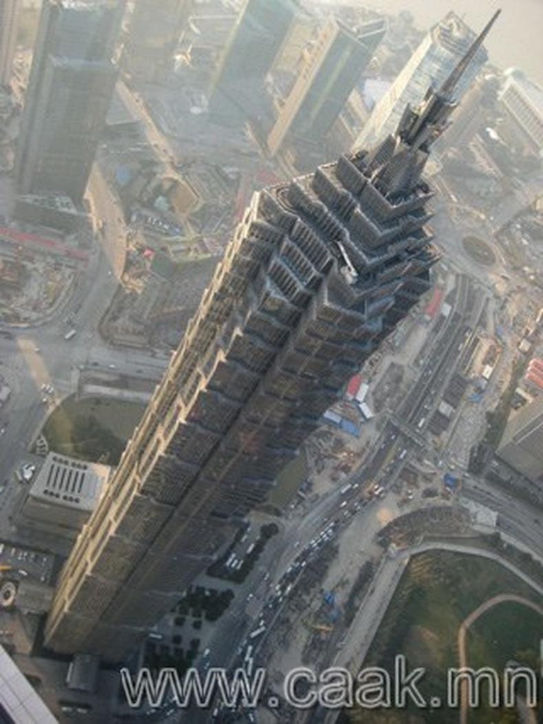 Шанхайн тэнгэр баганадсан байшин Цзинь Мао