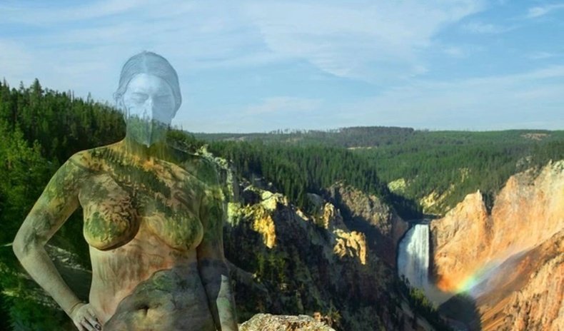 """Хүнийг байгальд """"уусгадаг"""" Америк артистын шинэхэн бүтээлүүд"""