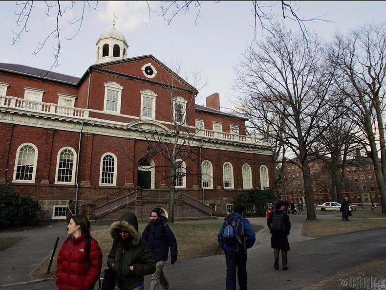 Харвардын их сургууль, АНУ  (91.6)