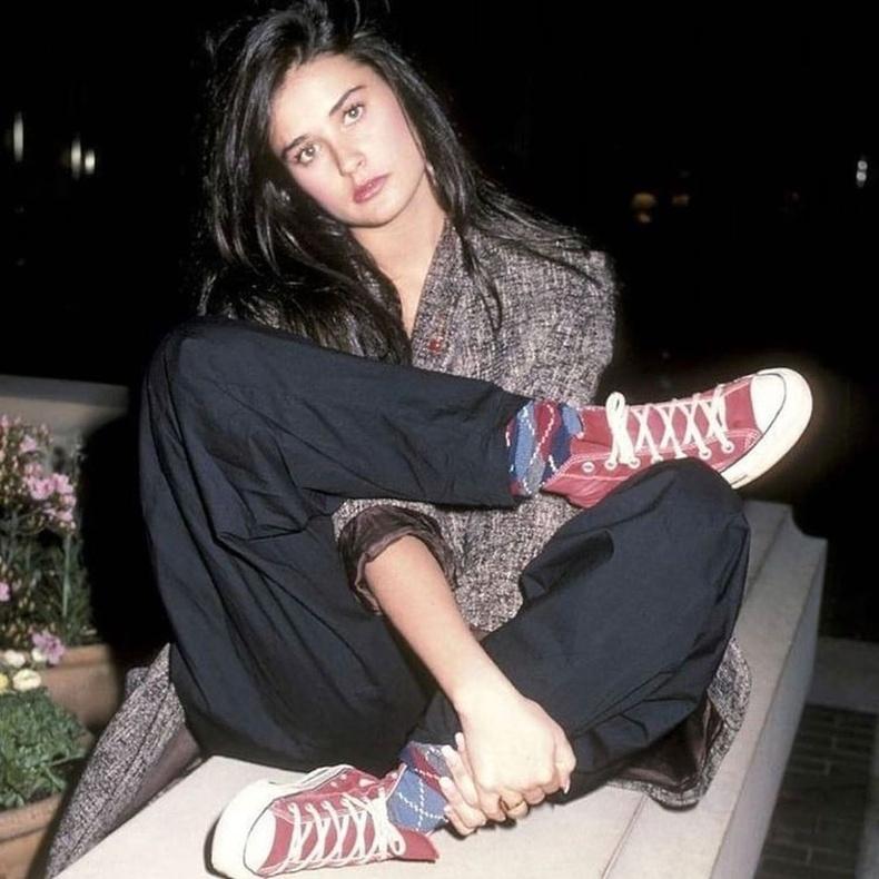 Деми Мур (Demi Moore) 23 насандаа