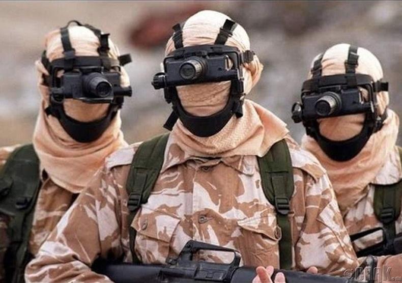 SAS - Их Британи
