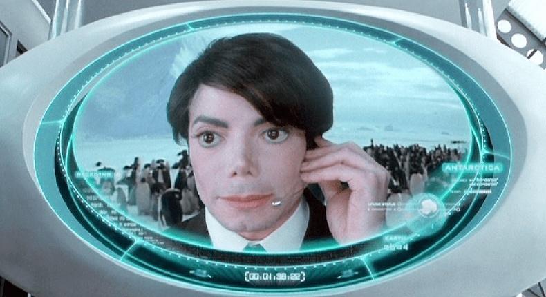 "Майкл Жексон (Micheal Jackson) - ""Men in Black 2"""