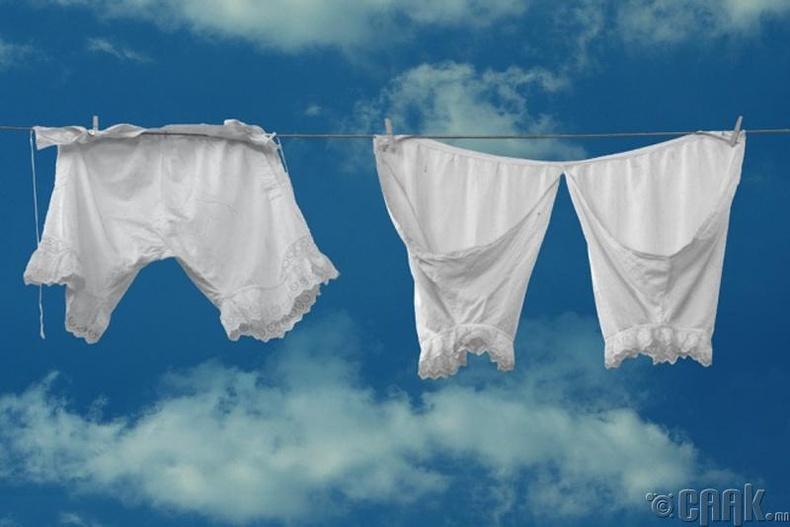 Угаасан хувцасаа хурдан хатаах