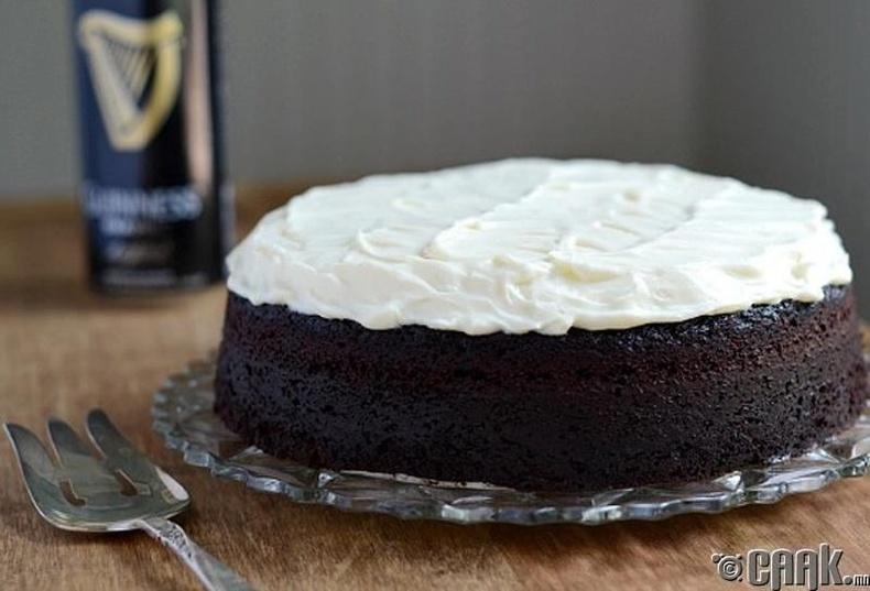 """Guinness"" шар айрагтай бялуу, Ирланд"