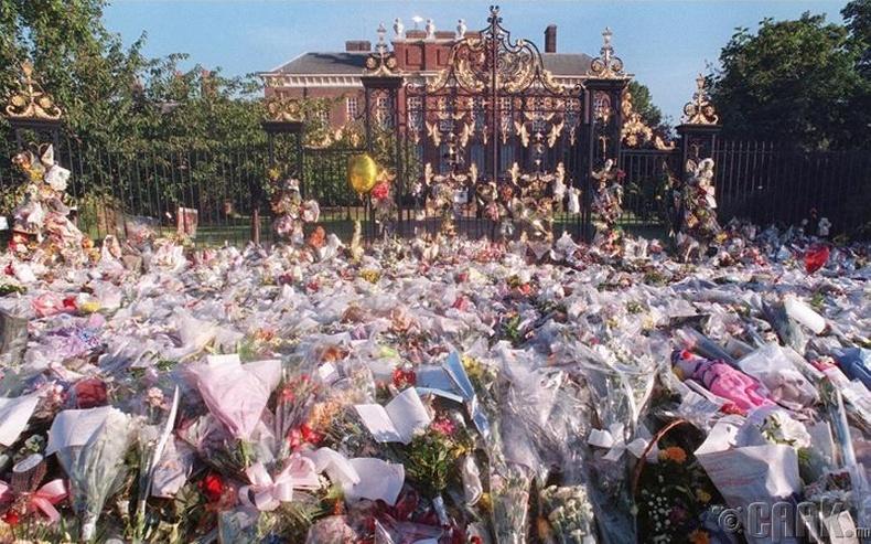 Диана гүнж (Princess Diana)-гийн оршуулга (1997 он)