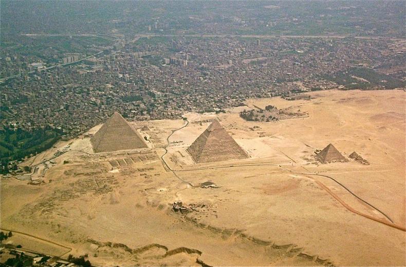 Египетийн пирамидууд ба Каир хотын зураглал