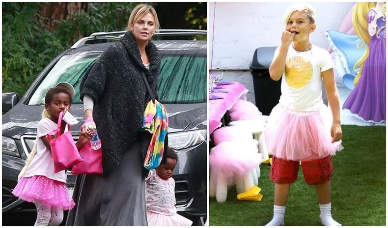 Хүүгээ охин хүүхэд шиг хувцаслах дуртай алдартан бүсгүйчүүд