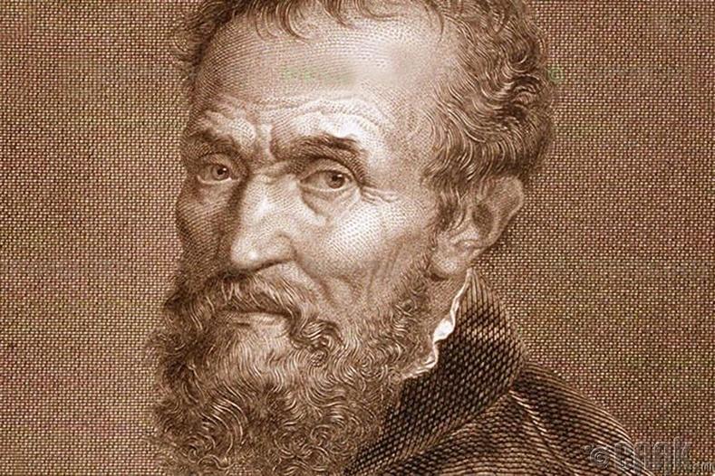 Архитектор, зураач, барималч Микеланжело, (1475-1564 он)