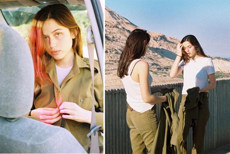 Израйл эмэгтэй цэргүүдийн амьдрал