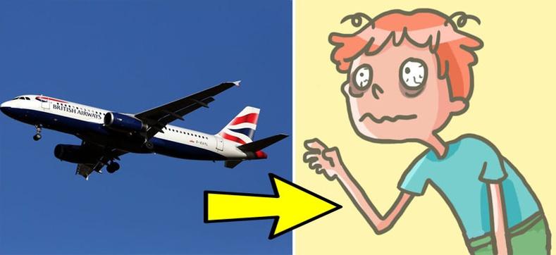 Онгоцоор нисэхэд бидний биед болдог итгэмээргүй зүйлс