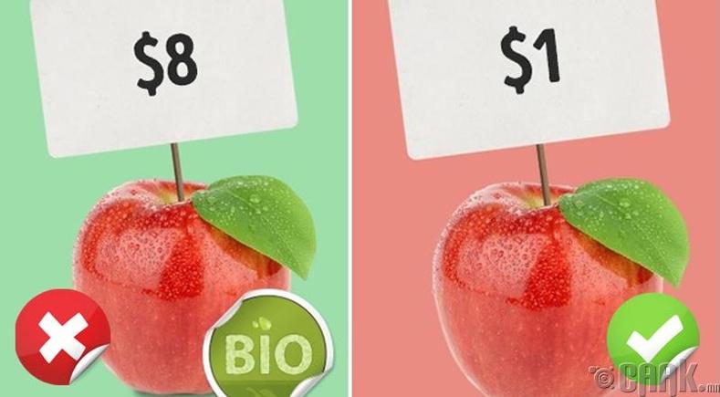 Органик хүнс сонгон хэрэглэх