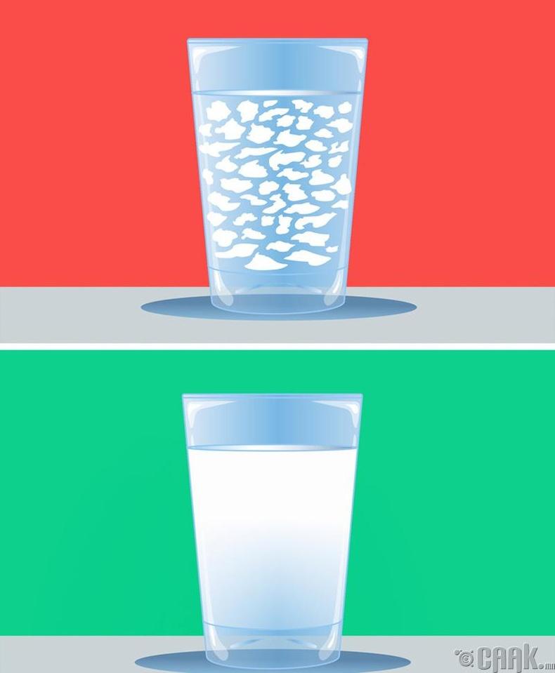 Ариун цэврийн цаасыыг усанд урсгаж болно гэсэн заавартай бүтээгдэхүүнүүд