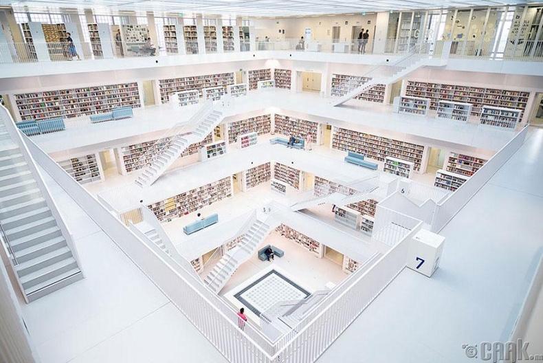 Штутгарт хотын номын сан, Герман