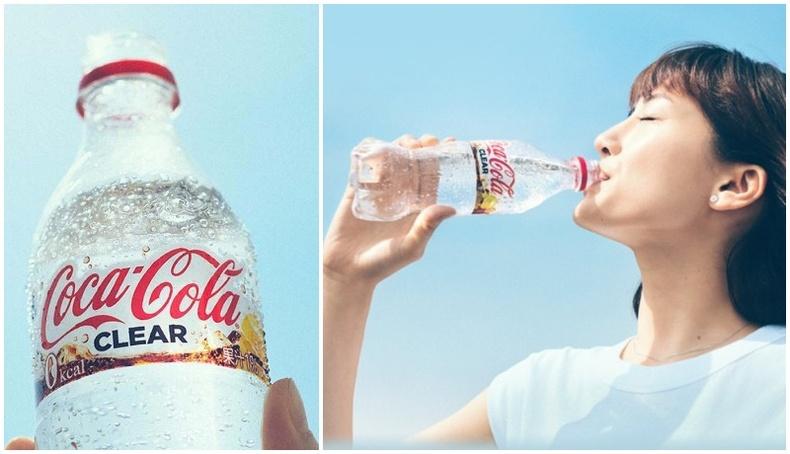 """Японд өнгөгүй """"Кока Кола"""" өнөөдрөөс худалдаанд гарлаа"""