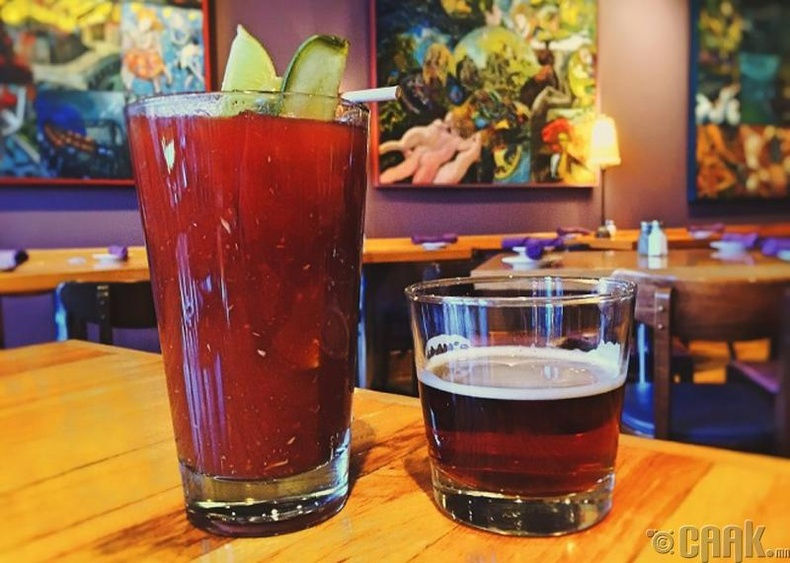"""Bloody Mary"" коктейл"