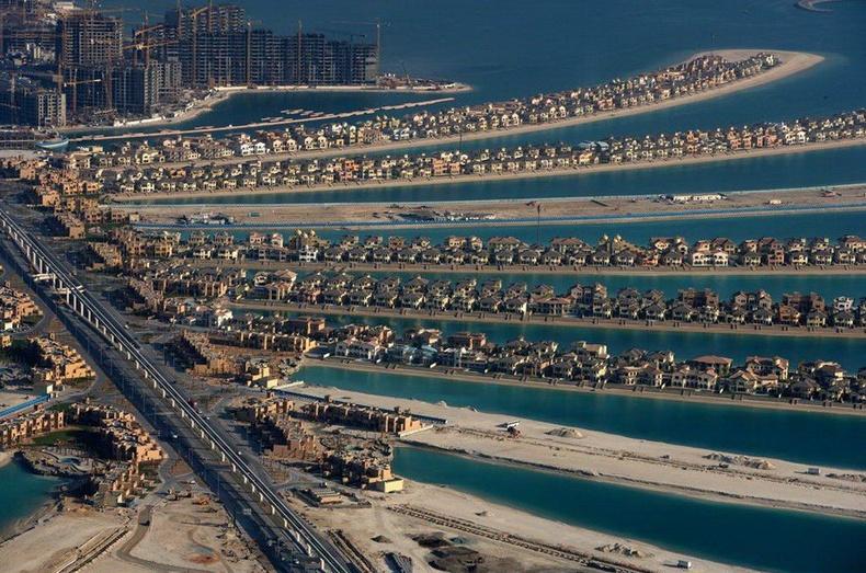 """Дэлхийн хамгийн том хиймэл арал болох """"Дал модон арал"""" - Дубай, АНЭУ"""