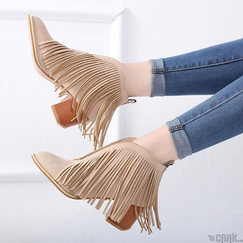 "Фринж ""Fringe"" загварын гутал"