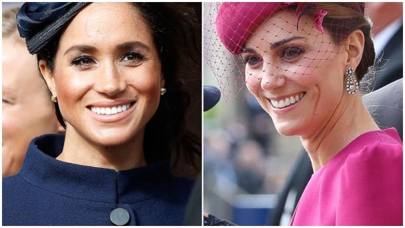Гүнгийн авхай Кейт болон Меган нарын үзэсгэлэнтэй харагддаг нууц