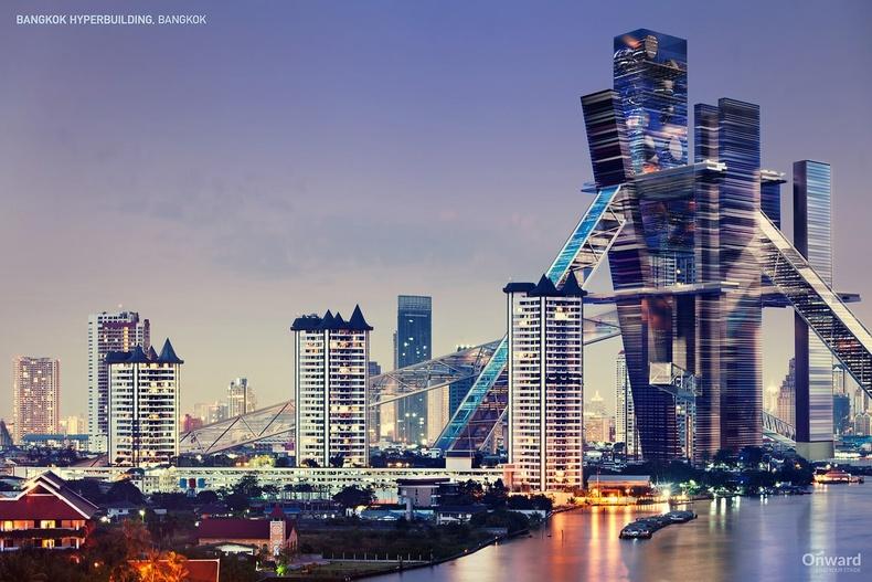 """""""Hyperbuilding"""", Бангкок"""