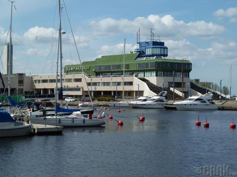 Олимпийн далайн сортын төвийн дэргэдэх зочид буудал, Пирита боомт, Эстони