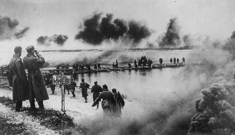 Днеприйн тулалдаан, 1943 он (1.58 сая хүн амиа алдсан)