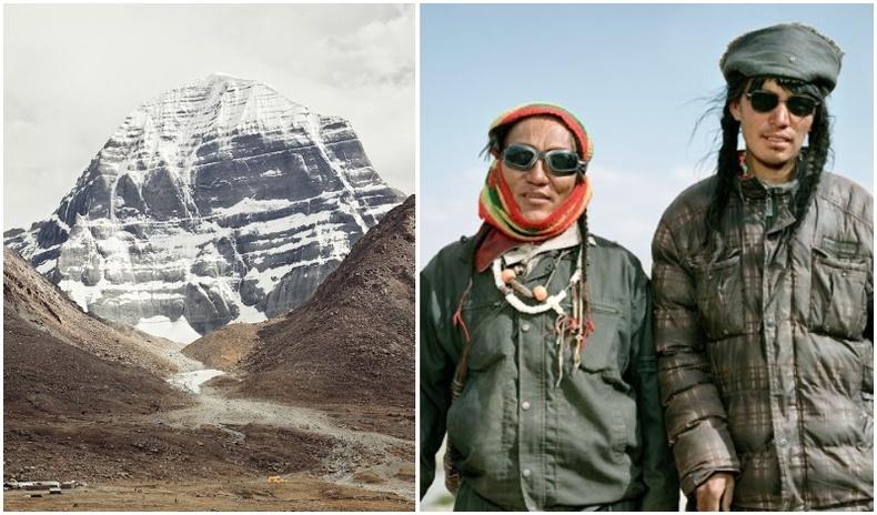 Төвдийн Ариун Кайлас уулыг зорьсон мөргөлчид, гороологчдын төрх (25+ фото)
