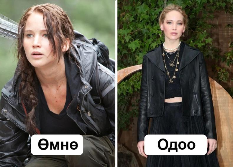 """""""Hunger Games"""" киноны жүжигчид хэрхэн өөрчлөгдсөн бэ?"""