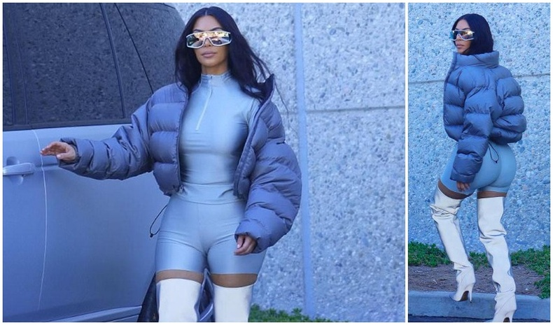 Ким папарацичдын цангааг тайлж гудамжинд загварын шоу үзүүлжээ