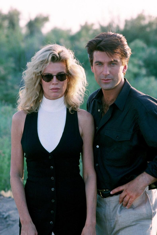 Ким Бейсингер болон Алек Болдуин, 1994 он.