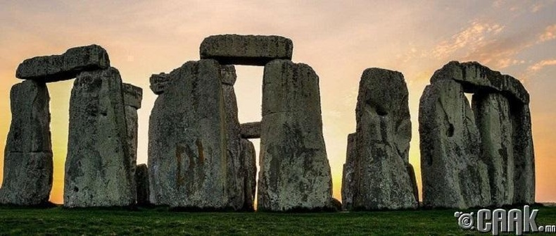 Стоунхенж 4000 жилийн настай