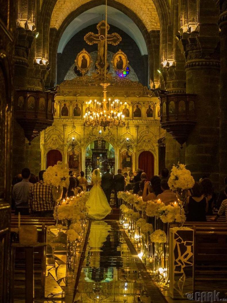 Дамаск хот дахь Христийн хурим