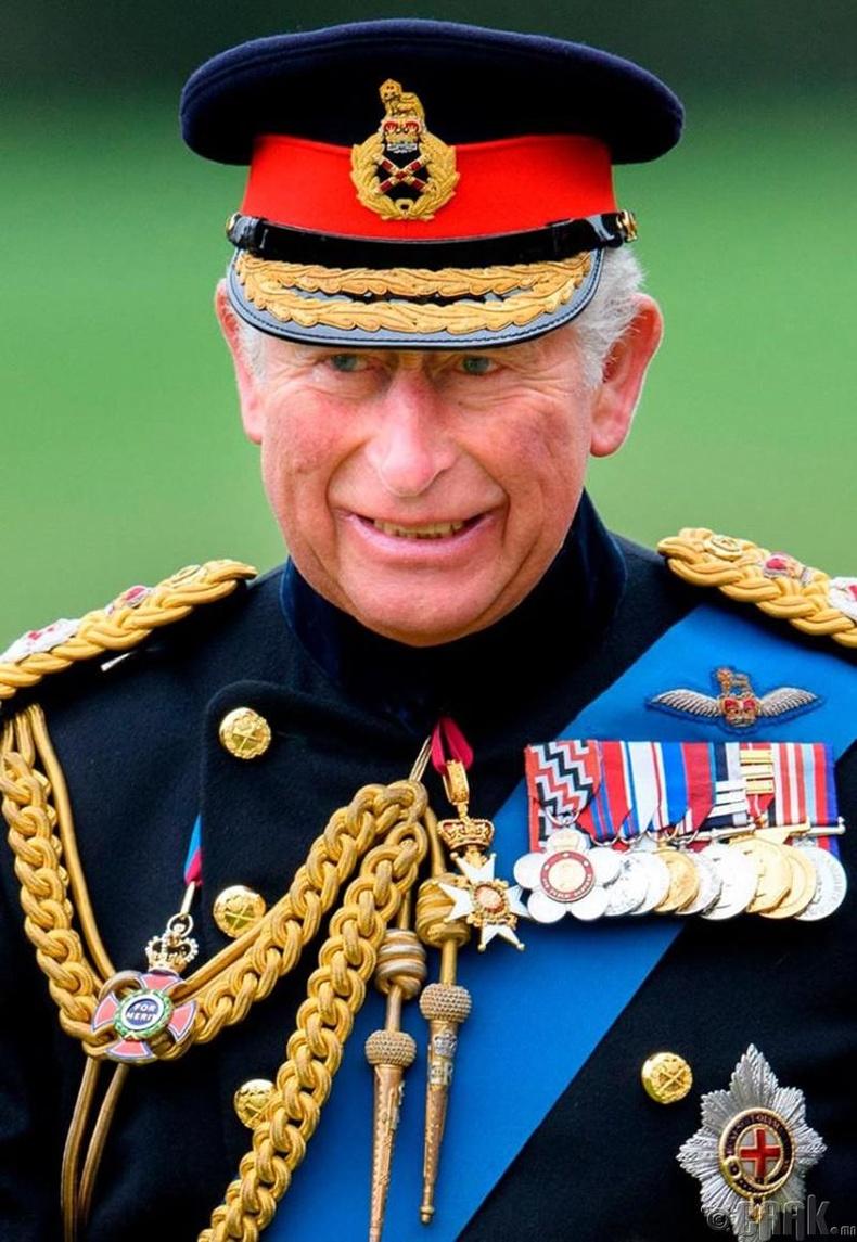 Хан хүү Чарльз хаан ширээнд сууна