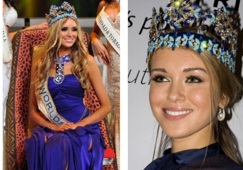 Ксения Сухинова — «Дэлхийн Мисс» 2008 он