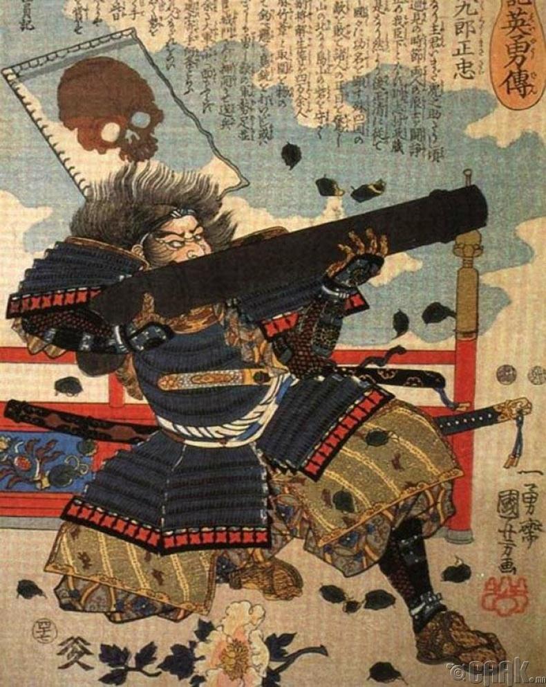 Самурай нар галт зэвсэгт дуртай байсан