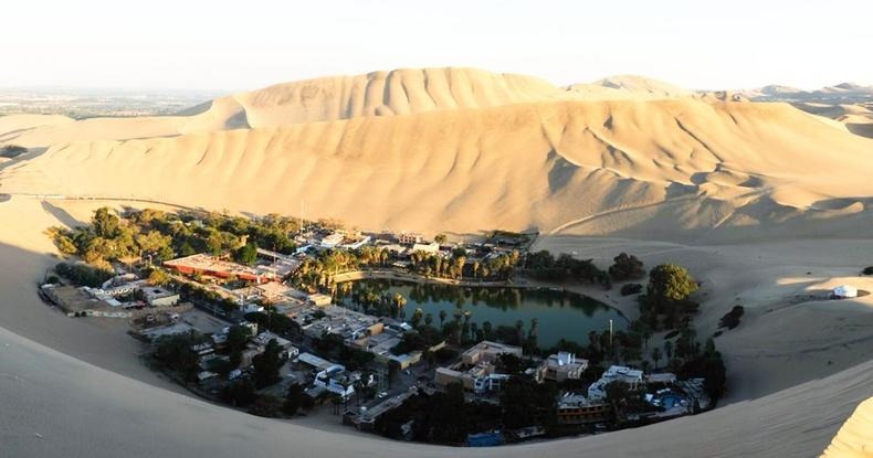 """""""Нууцлаг диваажин"""" - Перугийн цөлийн дундах үзэсгэлэнт баянбүрдийн хот"""