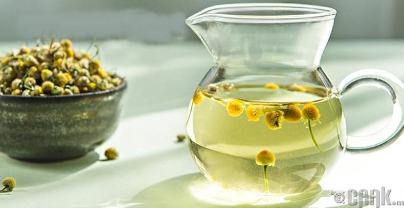 Алтан товч цэцгийн шүүс