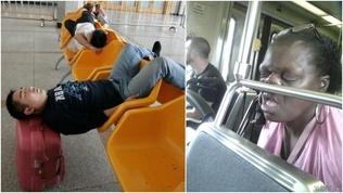 Атаархмаар нойртой хүмүүс (30 фото)